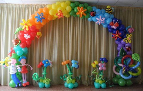 Доставка воздушных шаров в