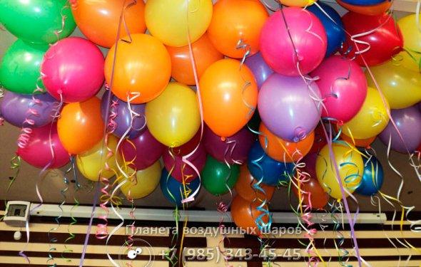 Гелиевые шарики на праздник