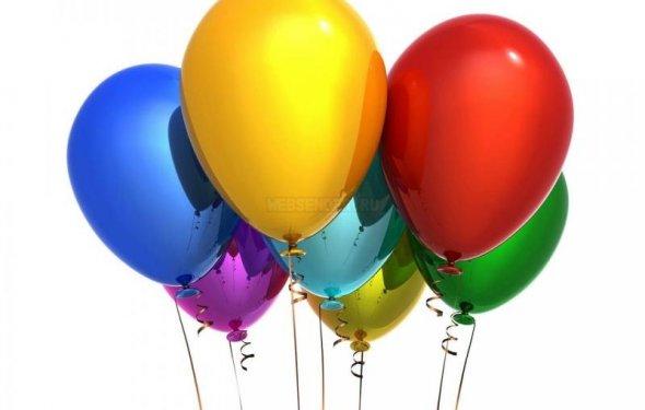 Воздушные шарики в Томске
