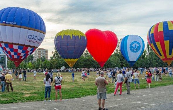 15 воздушных шаров