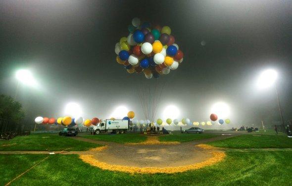 Воздушные шарики давно