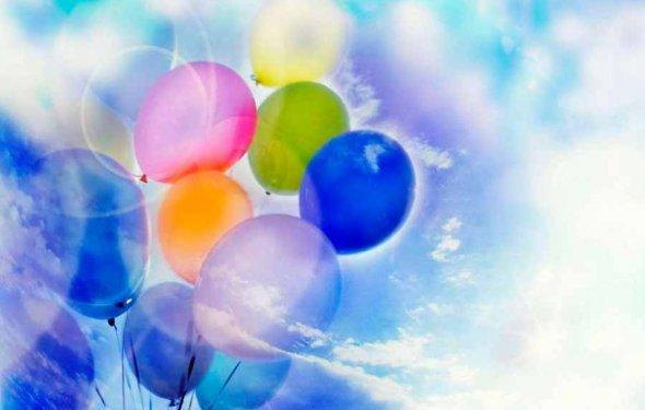 Полет воздушного шарика