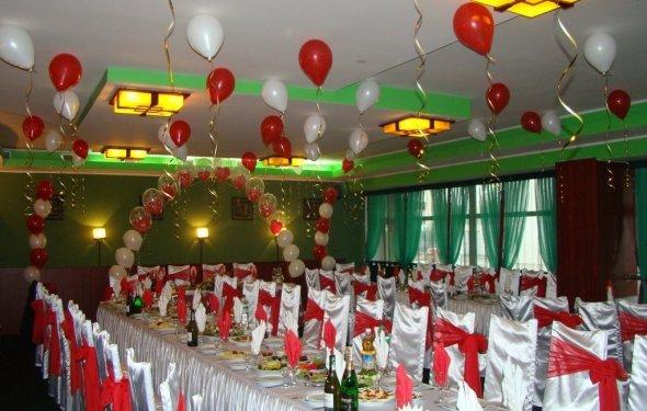 шарики на свадьбу-23