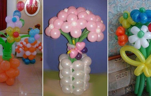 из воздушных шариков (486