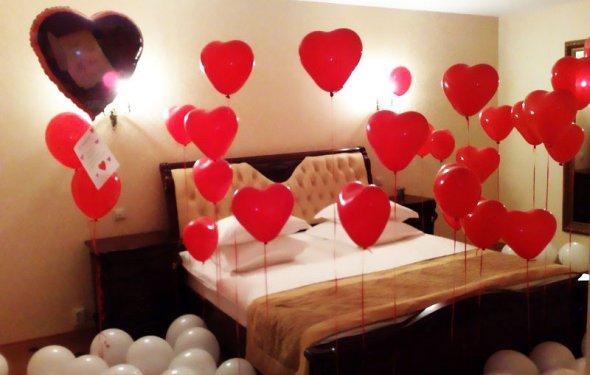 Идея № 1 – воздушные шары