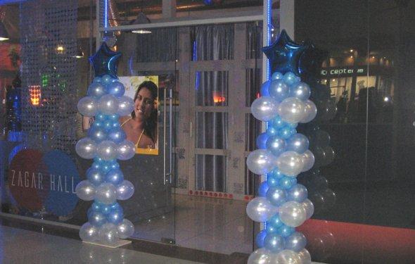 шары, фигуры на Новый год