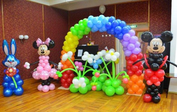 Воздушные шарики. Оформление