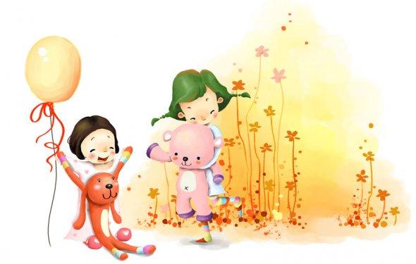 воздушный шарик, рисунок, toys