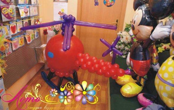 Фгуры из воздушных шаров